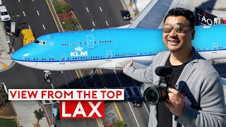 World's Busiest Airport Sights: LAX View From The Top