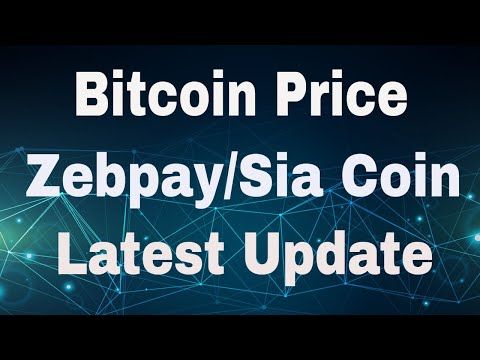 Download Bitcoin Price/Zebpay Stop Withdrawl/Sia Coin and Important Update HD Mp4 3GP Video and MP3