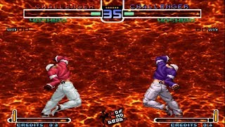 Orochi Yashiro Armageddon vs Todos los personajes KOF 2002