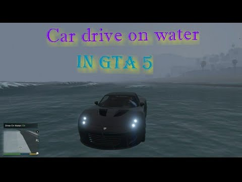 How To Drive A Car On Water In GTA 5