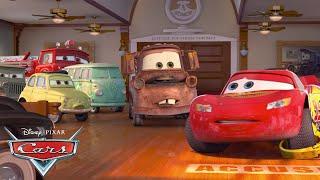 Lightning McQueen's Bumpy Start! | Pixar Cars