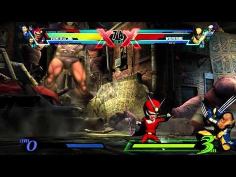 Видео № 1 из игры Ultimate Marvel vs. Capcom 3 [PS4]