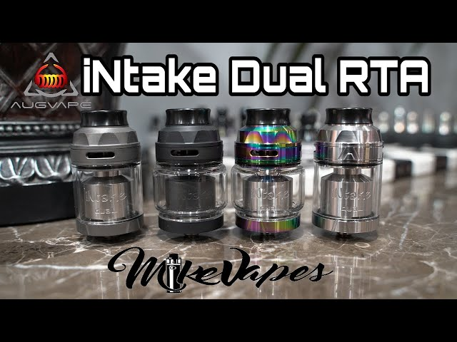 Augvape Mike Vapes iNtake Dual RTA Presentation Video