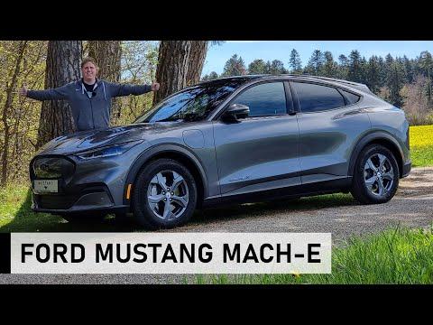 ⚡️Der NEUE Ford Mustang Mach-E Extended Range  - Review, Fahrbericht, Test