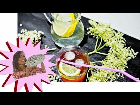 Sciroppo di Sambuco - Diuretico Naturale Rinfrescante - Le Ricette di Alice