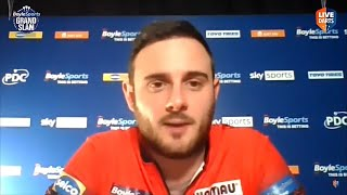 """Joe Cullen at the Grand Slam: """"I didn't want to come here on the back of a win and let myself down"""""""