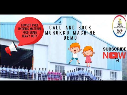Manapparai Murukku Making Machine