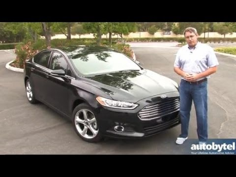 2014 Ford Fusion SE with EcoBoost Video Review