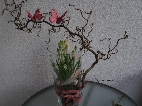 Osterdeko Tutorial - Muscari in der Vase - Osterdekoration selber machen