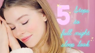 5 шагов к идеальной коже утром \ 5 steps to full night sleep skin look |Beauty Blanc