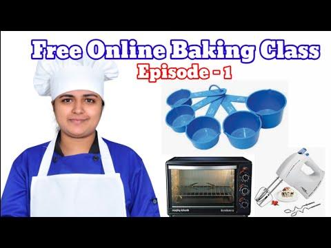 Free Online Baking Class || Episode- 1|| Kerala kitchen