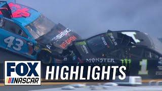 Kurt Busch, Bubba Wallace, and more crash early at Daytona 500 | 2019 DAYTONA 500 | FOX NASCAR