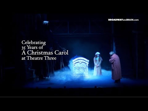 Celebrating 35 Years of A Christmas Carol at Theatre Three