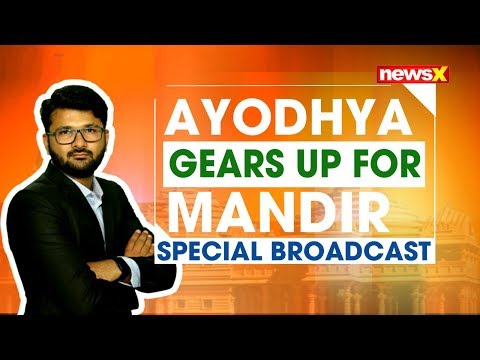 Ayodhya gears up for Mandir | Special Broadcast | NewsX