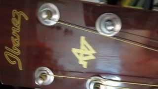 Clip Dan Guitar Ibanez AC 5BS