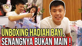 UNBOXING HADIAH BAYI, CAPTAIN VINCENT BAPER