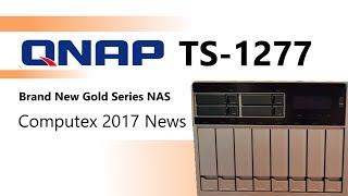 Qnap Desktop NAS TS-1277-1600-8G 12-Bay (8x 3 5