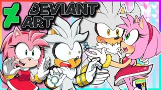 Silver And Amy VS DeviantArt - ITS NO USE!!!!!! (FT Tails)