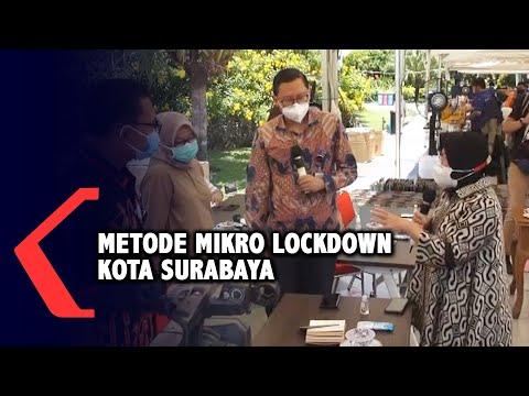 penjelasan risma soal metode mikro lockdown di surabaya