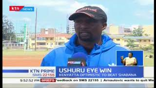 Ushuru Coach  Ken Kenyatta warns Shabana says Ushuru are a stronger side