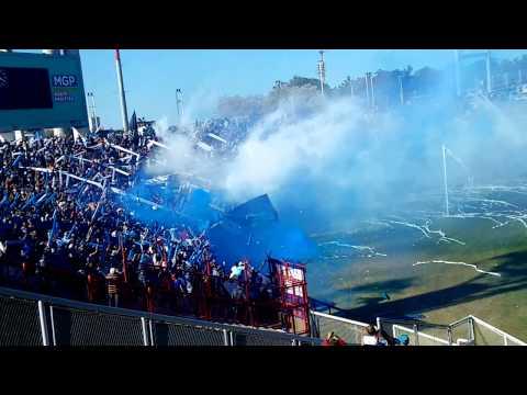 """""""Recibimiento (La Brava) / Alvarado 0 - 1 Dep. Roca"""" Barra: La Brava • Club: Alvarado"""
