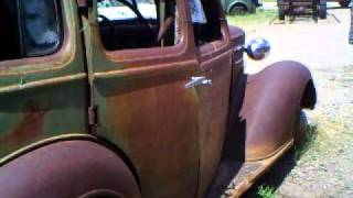 1936 Ford 5 Window New Owner Inspection 9-11-2010 Lake