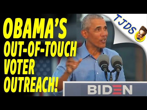 Obama's Out Of Touch Voter Outreach!