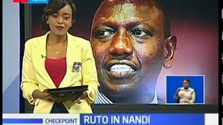 DP William Ruto accuses NASA leader  Raila Odinga of propaganda