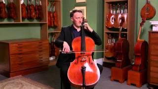 Cello by Sebastien Vuillaume, Paris circa 1860