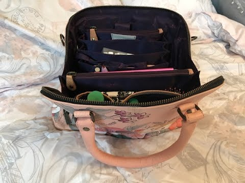 Anuschka Vintage Garden Bag Review & Quick What's in it. Not what I expected.