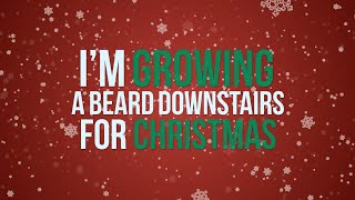 Kate Miller Heidke Ft. The Beards   I'm Growing A Beard Downstairs For Christmas (lyric Video)