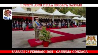 preview picture of video 'BRIGATA SASSARI: CENTENARIO; CERIMONIA SASSARI, I MOMENTI SALIENTI'