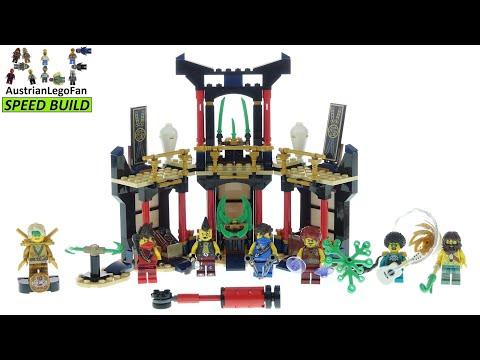 Vidéo LEGO Ninjago 71735 : Le tournoi des éléments