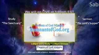 SDR Online Church Service - The Lord's Supper