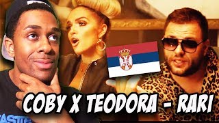BALKAN MUSIC REACTION |COBY X TEODORA   RARI (OFFICIAL VIDEO)