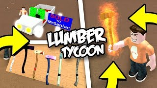 ROBLOX Lumber Tycoon 2 (Pro Helps Noob!) Ep 2 Pro Gets