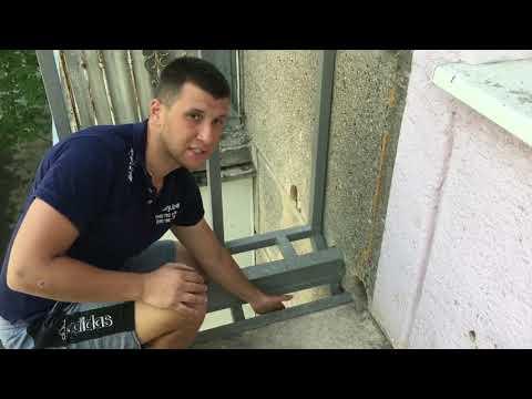 Расширение балкона без разрешения на пр-те Шевченко в Одессе пришлось укоротить!