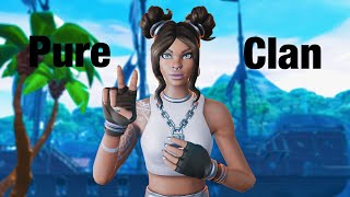 Pure Clan Fortnite Gameplay (Fxby and Anxy) 720p