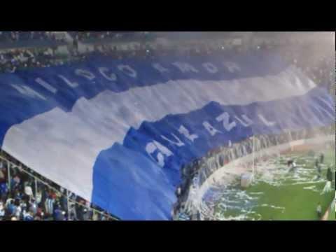 """MI LOCO AMOR CRUZ AZUL!!!!!!"" Barra: La Sangre Azul • Club: Cruz Azul"