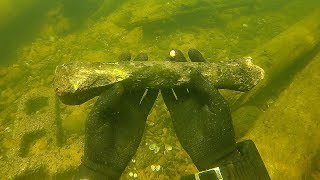 Found a Human Leg Bone Underwater in the River! (Police Called)