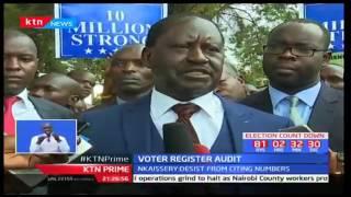 NASA sues IEBC over breached electoral process