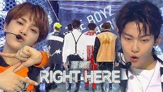 《Comeback Special》 THE BOYZ(더보이즈) - Right Here @인기가요 Inkigayo 20180909