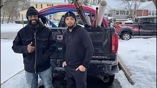 New Jersey plumber drives over 1,700 miles with his family to fix burst pipes in Texas after storm