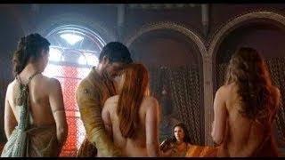 Oberyn Martell in a brothel with Ellaria