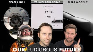 Ep 24   SpaceX DM1, SuperCharger V3, And Tesla Model Y