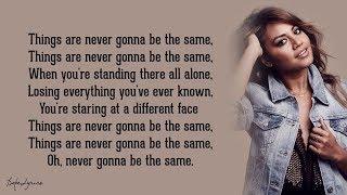 Never Be The Same   Jessica Mauboy (Lyrics) 🎵