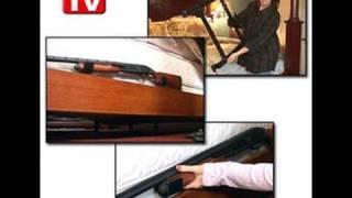 Crazy Bedside Gun Rack Infomercial thumbnail