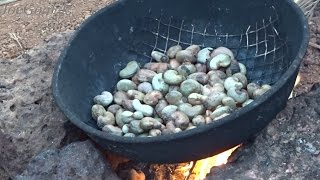 Roasting Cashew Nuts