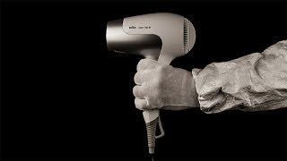 1 Hour White Noise To Sleep | Hair Dryer Sound 36 | Visual ASMR