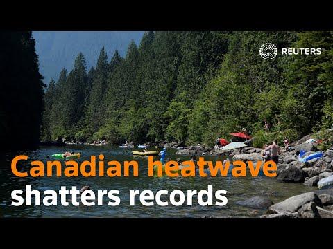 Deadly Canadian heatwave still shattering records